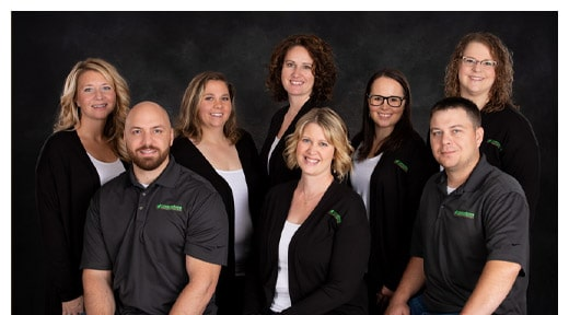Chiropractor Antigo WI Amy Stuber and Team